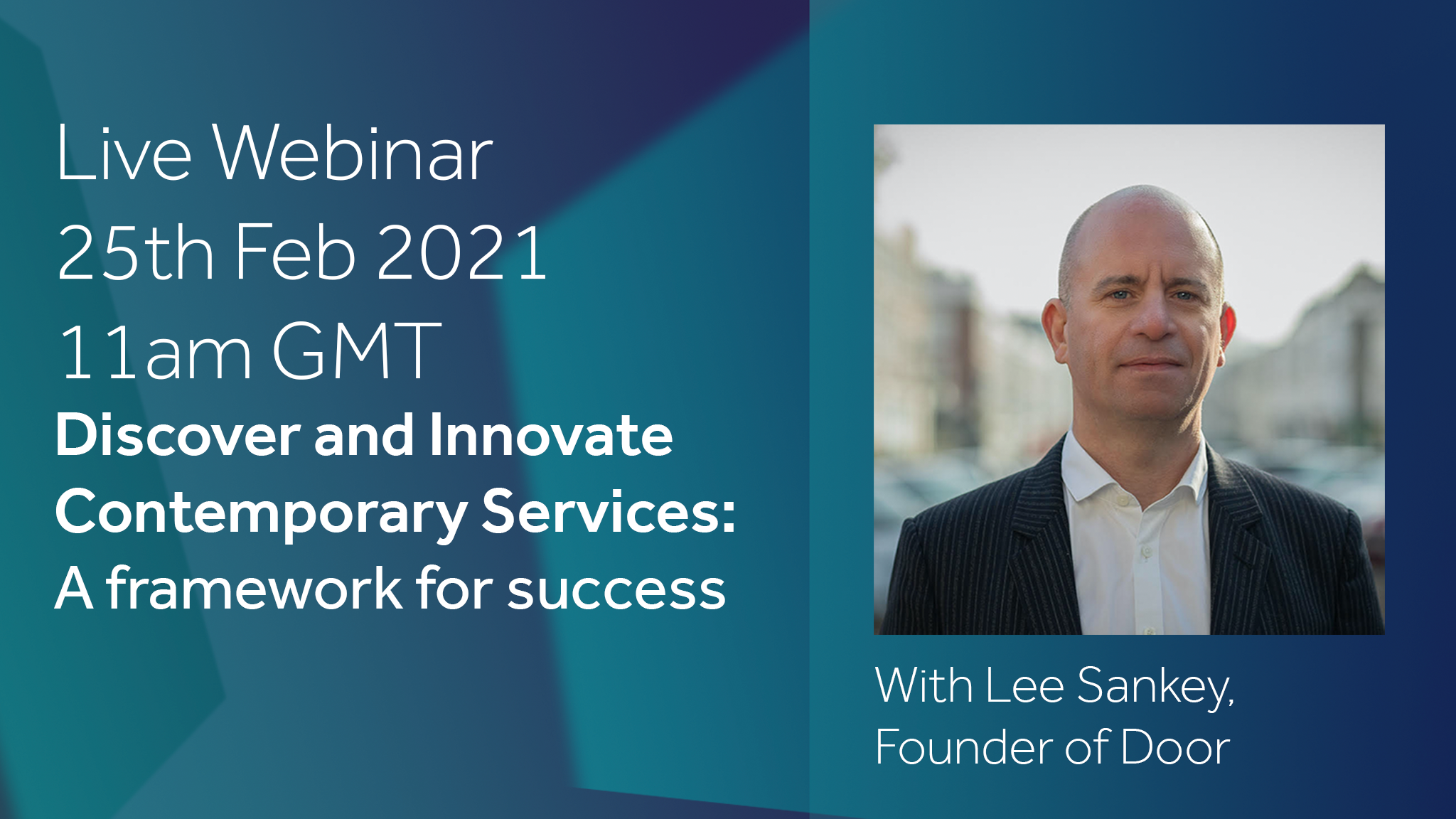 Live Webinar: Discovering and Innovating Contemporary Services